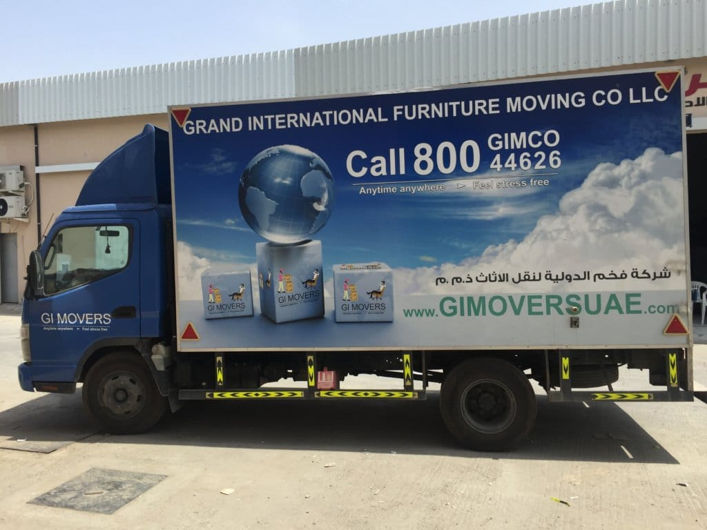 delivery vehicle gimoveruae